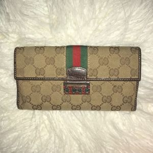 Vintage Gucci Wallet 146206